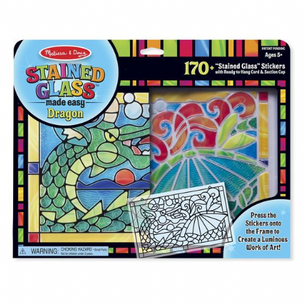 Melissa & Doug Stained Glass Art - Dragon